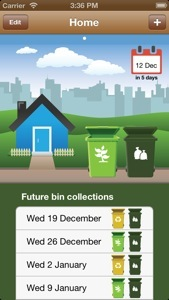 iPhone and Android application with growing support for bin collection schedules provided by councils across Australia